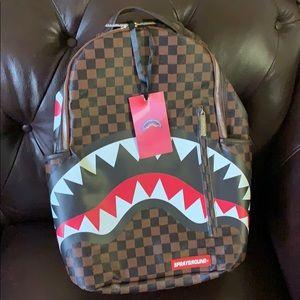 New Sprayground Shark Designer Bag Backpack
